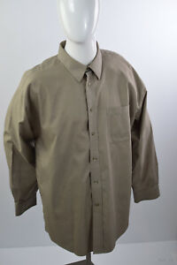 Joseph & Feiss Men's Sz 17 1/2 Long Sleeve Shirt  2 ply Non Iron   100% Cotton
