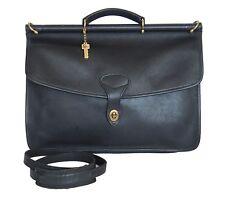 JACK GEORGES Briefcase Leather Black
