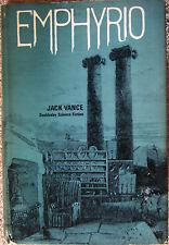 Emphyrio by Jack Vance 1st ed hc dj (1969)