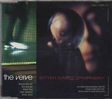 THE VERVE - Bitter sweet symphony - CDs SINGLE 1997 4 TRACKS NEAR MINT CONDITION