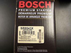 Bosch SR8543X Remanufactured Starter fits Allante Deville Seville Eldorado