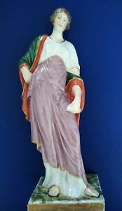 Antiques Porcelain Figurine Naples Italy Rare Fabric Ferdinandea 18-19 Century