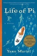 The Life of Pi by Yann Martel a paperback adventure book FREE USA SHIPPING pie