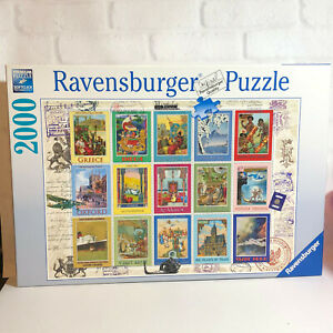 Ravensburger Vacation Stamps Jigsaw Puzzle 2000 Pieces 2016