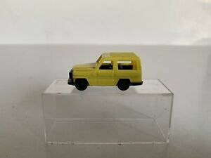 B20 Vintage Wiking ? Ho Scale 1/87 Scale Mercedes Benz 300 GD Wagon Yellow