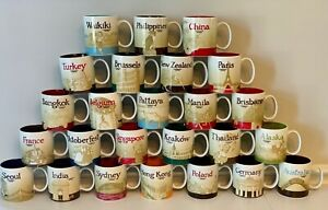 Starbucks Global Icon Collector Series Mugs 16oz
