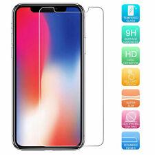 """Film de Verre Sécurité Pour Apple IPHONE X 10 5.8 """" 9H Affichage Housse Renforcé"""