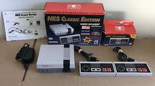 GREAT SHAPE Nintendo NES Classic Edition Home Console 2 Controllers FAST SHIP