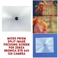 New Micro Prism Split Image Focusing Screen For Zenza Bronica ETR 645 120 Camera