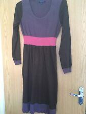 Boden Colourblock Sweater Dress Size 14L