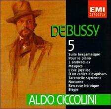 Debussy: L'Oeuvre Pour Piano, Volume V (CD, EMI Music Distribution)