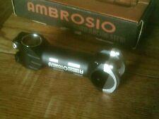 "AMBROSIO LITE 1"" OR  1 1/8"" AHEAD STEM 110mm, 10 DEGREE, 31.8mm BARS"