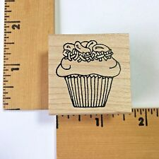 Lockhart Rubber Stamps - Easter Jelly Bean Cupcake 2134 - NEW