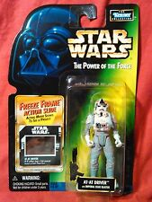 AT-AT DRIVER Power of the Force freeze frame Star Wars figure kenner 1998