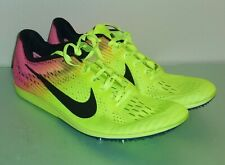 cheap for discount 43e2c 9b672 Nike Men's Zoom Matumbo 3 Track Spike Shoes Green Volt Pink Size