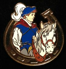 Disney Pin - Snow White Prince Heroes on Horseback Horseshoe Cast Lanyard Series