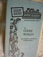 THE GOOSE WOMAN JACK PICKFORD NTSC VHS SMALL BOX