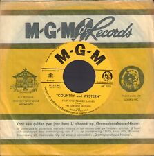 """OSBORNE BROTHERS – Fair & Tender Ladies (RARE HOLLAND ONLY COUNTRY SINGLE 7"""")"""