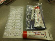 PINFLAIR Glue - 2 x 80ml Tubes Glue Gel With Syringe Plus FREE Peel Off.