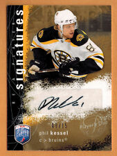 2007-08 , UD , BE A PLAYER , PHIL KESSEL , BAP SIGNATURES , AUTO , GOLD , /15