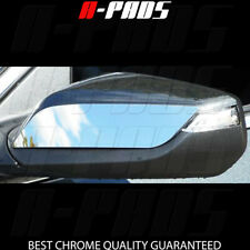 Chrome Covers Set For 2016 17 Chevy Chevrolet Malibu Top Half Mirror w/turning