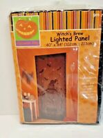 "Halloween Alley 40"" x 84"" Lighted Panel   Witch's Brew  Free Shipping"