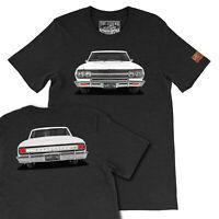 Custom Your Car Print T-shirts, 1965 Chevy Chevelle SS Men's T-shirts