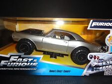 Chevy Camaro Fast & Furious 7 Off Road 1967 Silver 1 24 Model Jada Toys