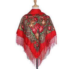Grand Russe Slaves Style Folk Écharpe Châle Collection Hiver 2020 Cyganochka