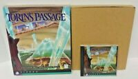 TORIN'S PASSAGE 1995 SIERRA CD-ROM Game for Windows PC Mint Disc Big Box Complet