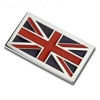 Badge placchetta adesivo 3D BANDIERA INGLESE automobile auto car styling UK