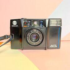 Minolta af-s Near Perfect! Point & Shoot 35mm Film Camera 35mm F/2.8 Lens Lomo