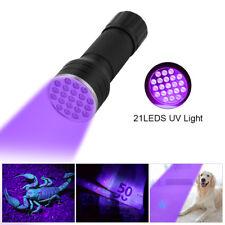 Pet Urine Stain UV Flashlight LED Blacklight Pat Health AAA Detector LD1345