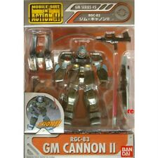 Bandai Gundam Mobile Suit In Action Figure MSIA GM Series #5 RGC-83 GM Cannon II