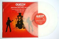 "QUEEN vs THE MIAMI PROJECT ANOTHER ONE BITES THE DUST 12"" Clear Vinyl"