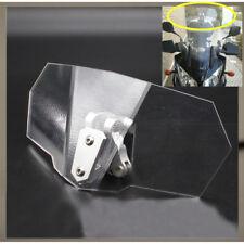Airflow Adjustable Windscreen Wind Deflector Universal Motorcycle Windshield