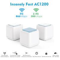 AC1200 Gigabit Dual-Band Whole Smart Home Wireless WiFi Mesh&Touchlink Wifi Mesh