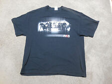 INXS 2009 Concert Shirt Size Adult Extra Large Black Band Tour Rock N Roll Mens