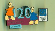 ATHENS 2004. OLYMPIC GAMES. OLYMPIC PIN. 120 WEEKS TO GO