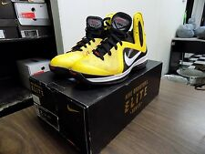 Nike Air Zoom Max LeBron James IX PS Elite Taxi Black White Red 516958-700 VNDS