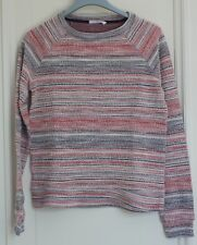 Sweat-shirt fille ou femme Mango gris/beige/rouge taille S ou 14/16 ans