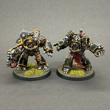 WARHAMMER 40,000 CHAOS SPACE MARINES BLACK LEGION OBLITERATORS PAINTED
