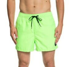 """REDUCED.QUIKSILVER MENS SHORTS.GREEN EVERYDAY VOLLEY 15"""" LINED SWIM BOARDIES 9S"""