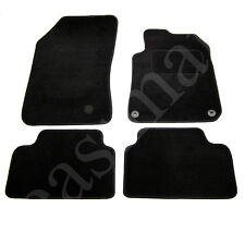 Peugeot 308 Mk2 2014 onwards Tailored Carpet Car Mats Black 4pc Floor Set