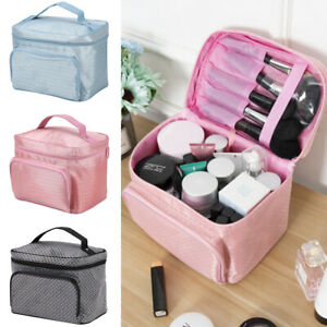 Beauty Large Make up Bags Ladies Womens Vanity Case Cosmetic Storage Travel Box