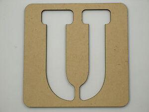60cm Large Wooden Letter Words Stencil Letters Alphabet Name STE