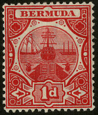 Mint Hinged Barbadian Colony Single Stamps