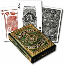 1 Deck Bicycle High Victorian Green Theory 11 Standard Poker Playing Cards New