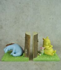 Traditional Winnie the Pooh Piglet Eeyore Heritage Nursery Baby Bookends