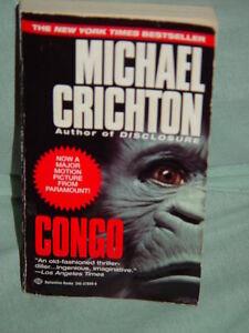 Congo by Michael Crichton (1993, Paperback)